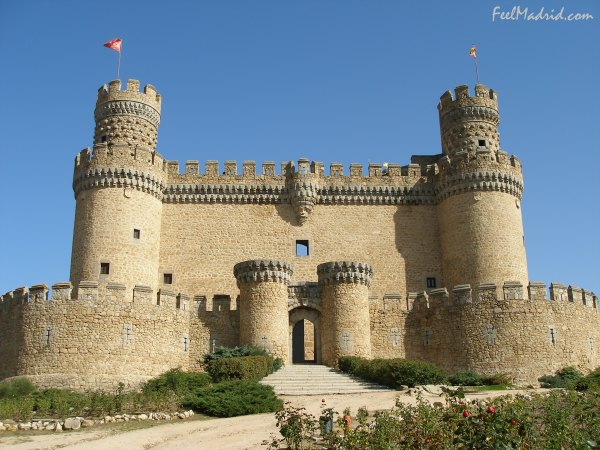 The Castle of Manzanares el Real