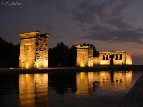 Temple of Debod at Night - Templo de Debod