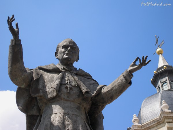 Statue of Pope John Paul II, Madrid