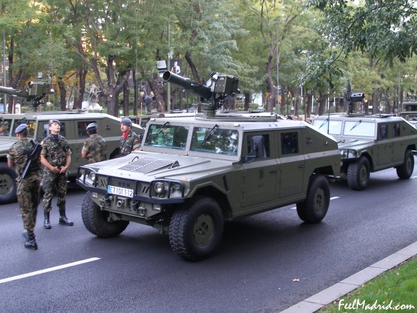 Military Parade Madrid