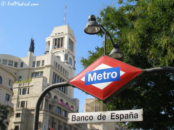 Madrid Metro Station