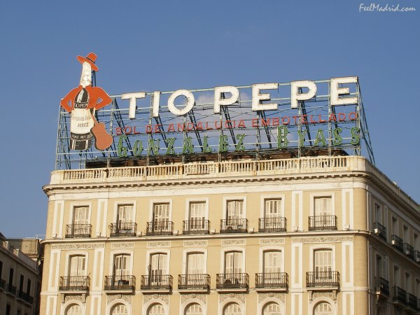 Tio Pepe Sign